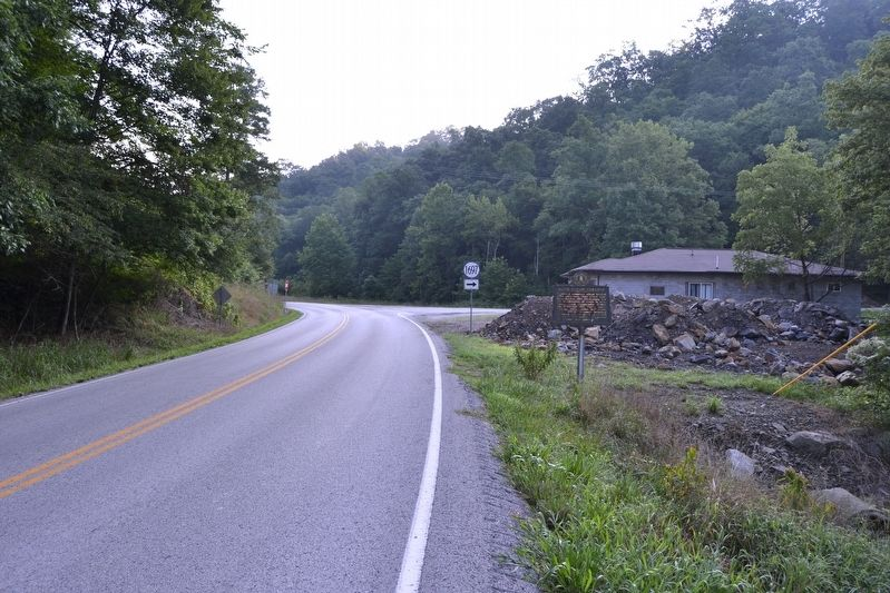View to Northeast Towards Intersection of Highways 550 and 1697 image. Click for full size.