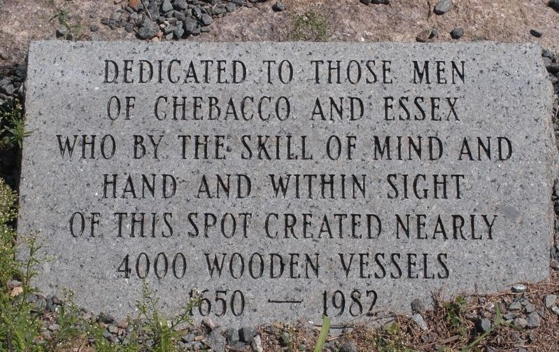 Shipbuilders Memorial Marker image. Click for full size.
