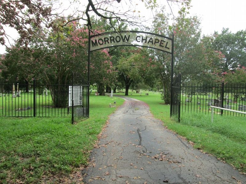 Morrow Chapel Cemetery image. Click for full size.