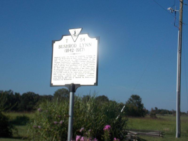 BUSHROD LYNN Marker image, Click for more information