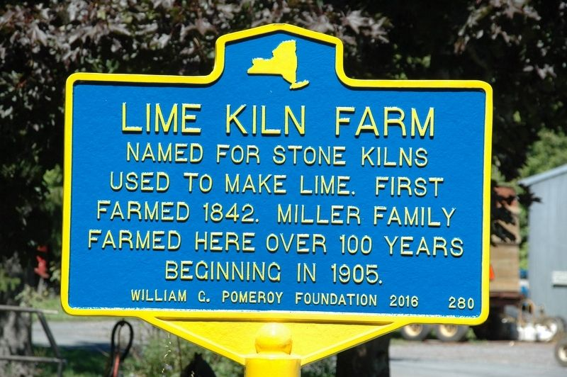 Lime Kiln Farm Marker image. Click for full size.