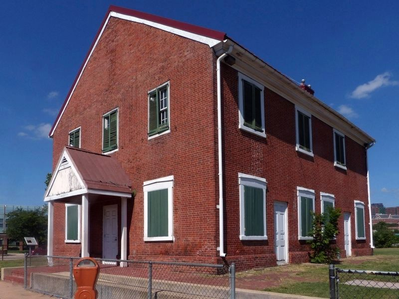 1781 Friends Meeting House image. Click for full size.
