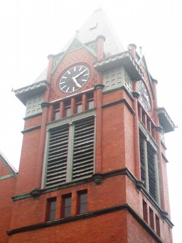 First Congregational Church Tower image. Click for full size.
