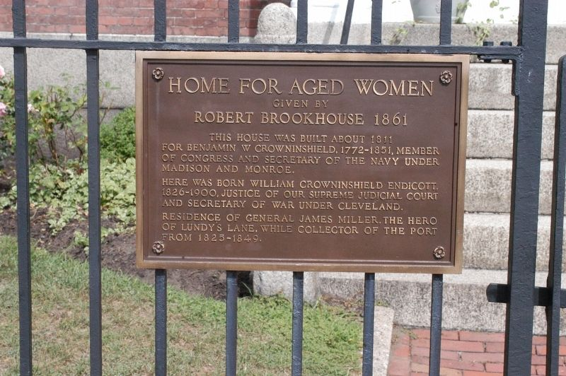 Brookhouse Home for Aged Women Marker image. Click for full size.