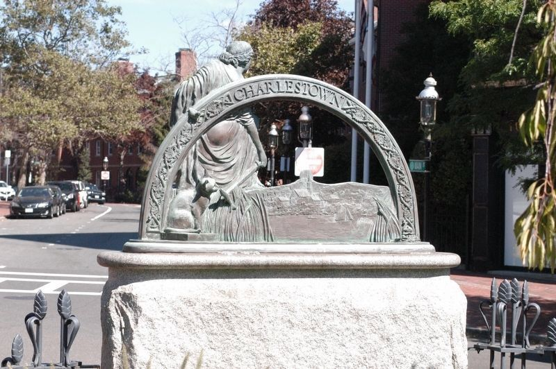 John Winthrop Memorial Marker image. Click for full size.