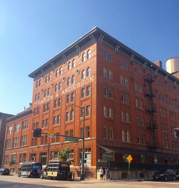The Edbrooke Lofts building. image. Click for full size.