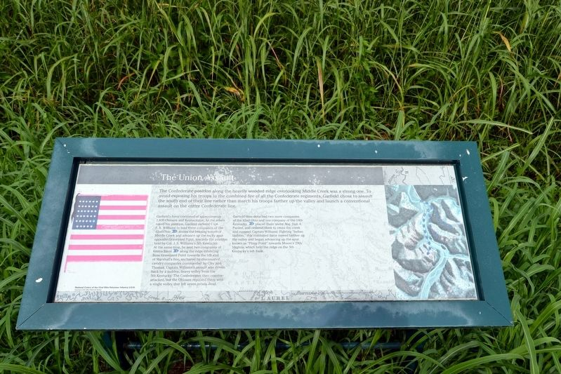 The Union Assault Marker image. Click for full size.