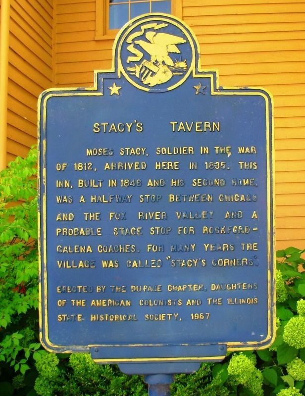 Stacy�s Tavern Marker image. Click for full size.