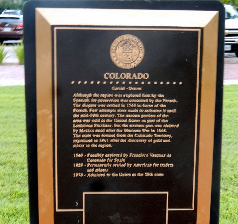 Colorado Marker image. Click for full size.