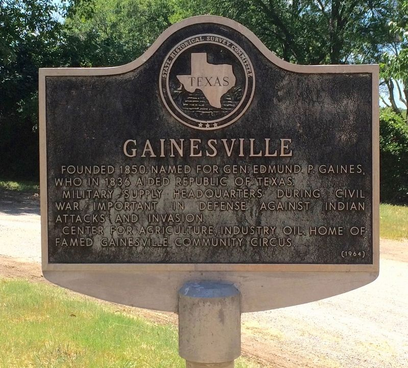 Gainesville Marker image. Click for full size.