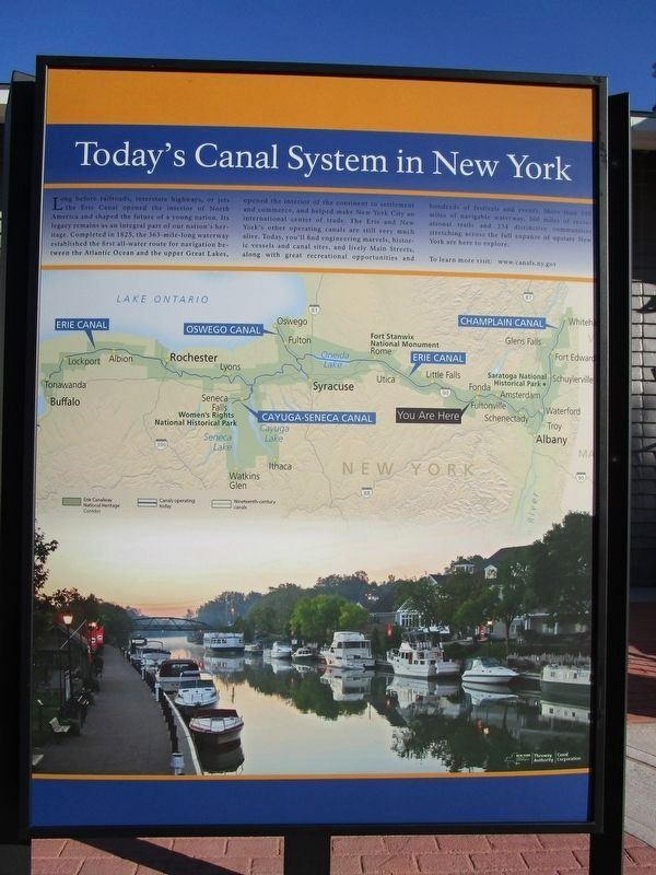Today's Canal System in New York image. Click for full size.