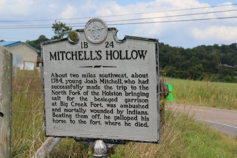 Mitchell's Hollow Marker image. Click for full size.