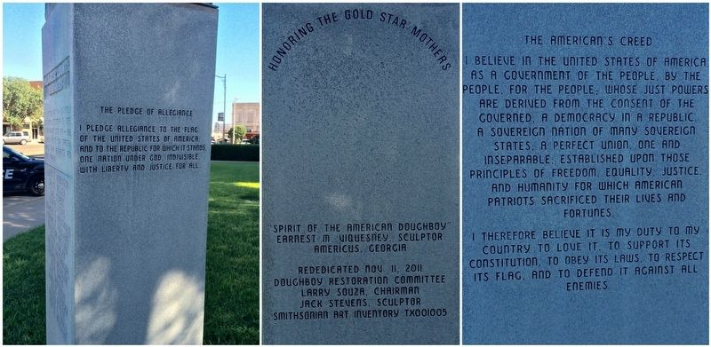 Wilbarger County WWI Memorial image. Click for full size.