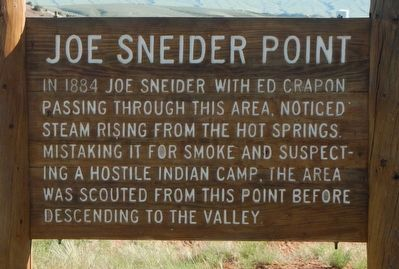 Joe Sneider Point Marker image. Click for full size.