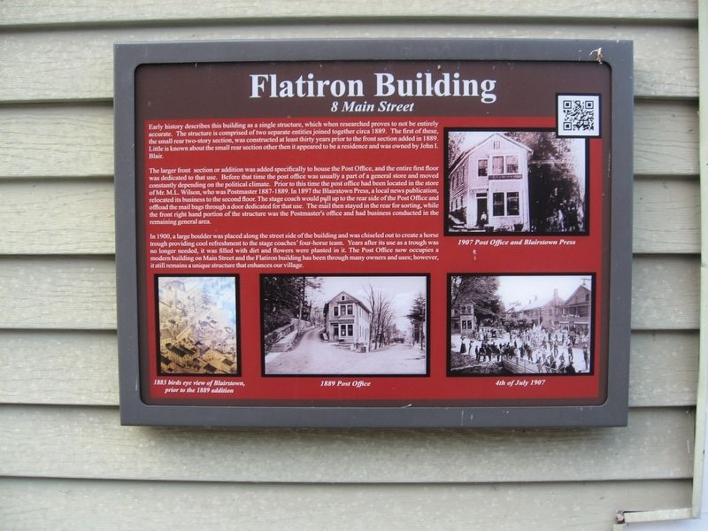 Flatiron Building Marker image. Click for full size.
