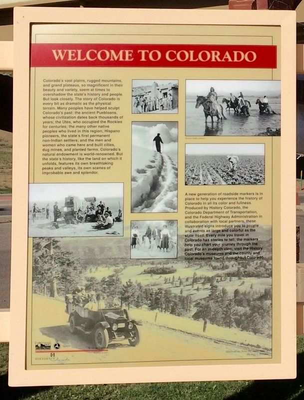 Welcome to Colorado (Panel 1) image. Click for full size.