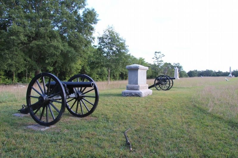 Bledsoe's Missouri Battery Marker image. Click for full size.