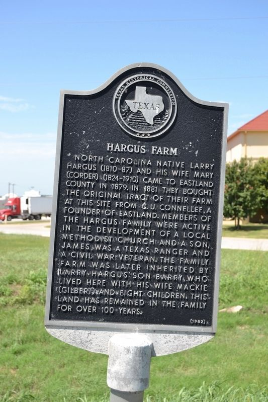 Hargus Farm Marker image. Click for full size.