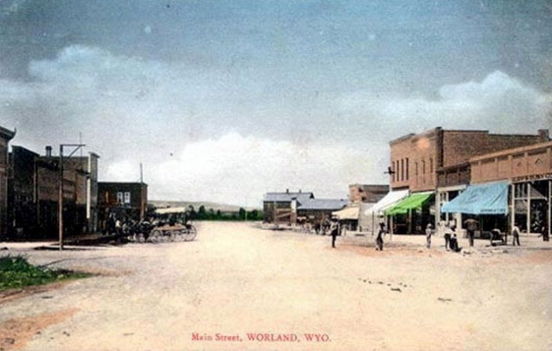 Main Street, Worland, Wyo image. Click for full size.
