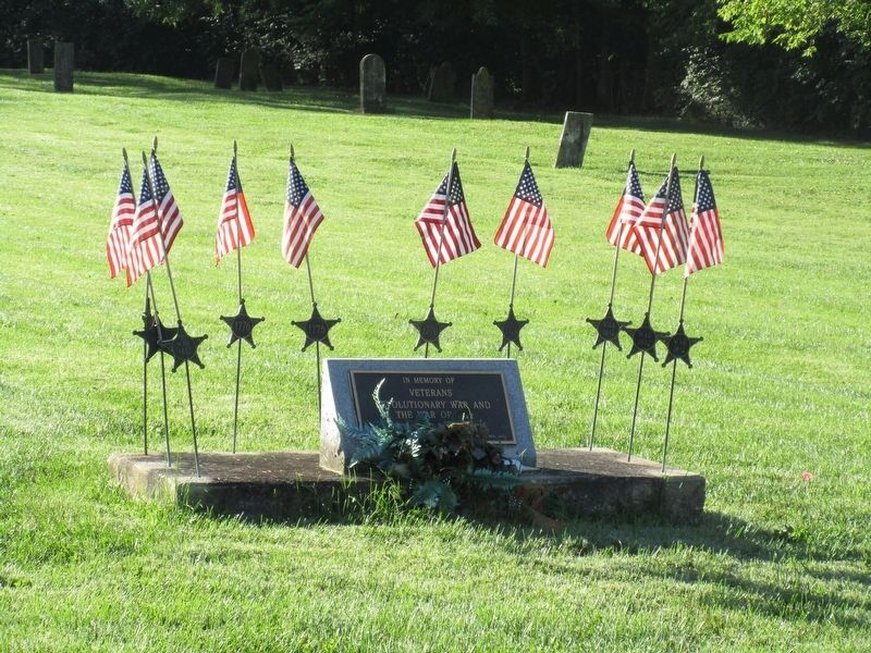 Staunton Veterans Memorial Marker image. Click for full size.