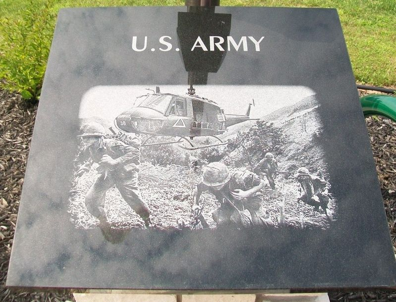 Veterans Memorial U.S. Army Marker image. Click for full size.