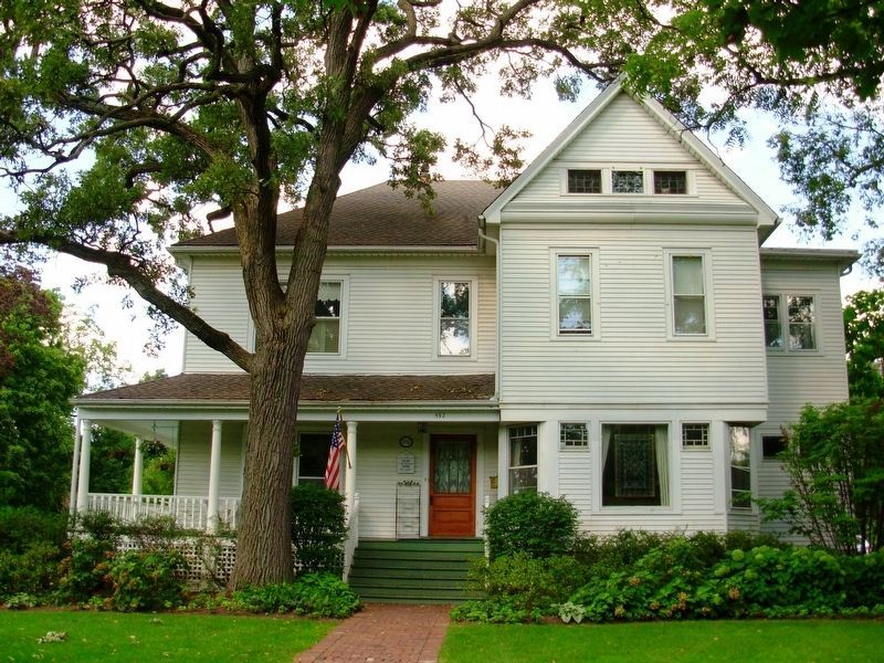 Glen Ellyn Main Street Historic District Home image. Click for full size.