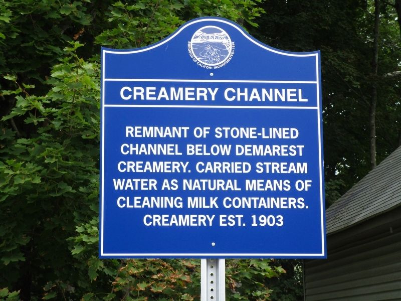 Creamery Channel Marker image. Click for full size.