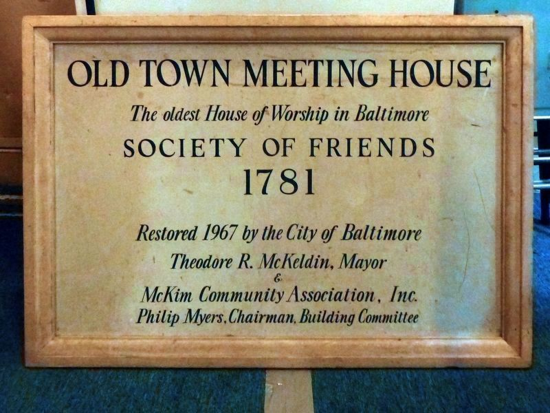Old Town Meeting House image. Click for full size.