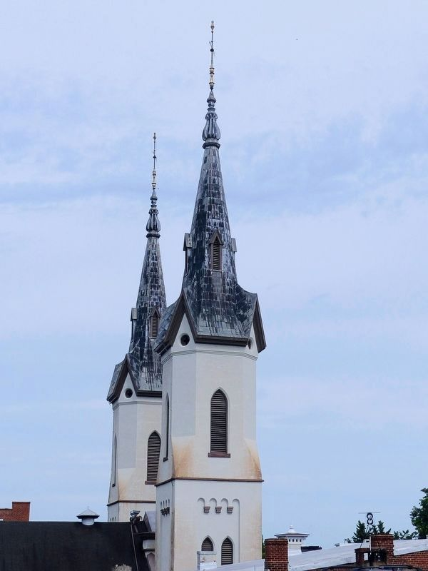 Evangelical Lutheran Church Spires image. Click for full size.