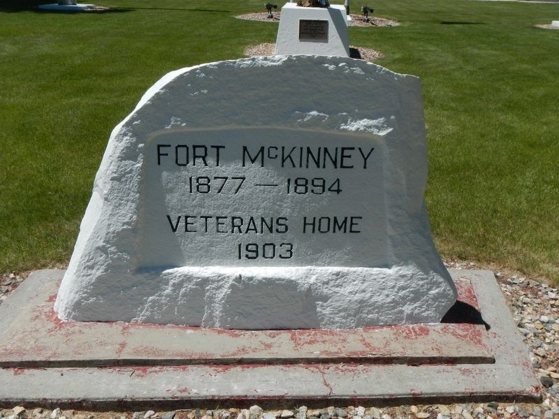 Veteran's Home of Wyoming War Memorials Marker image. Click for full size.