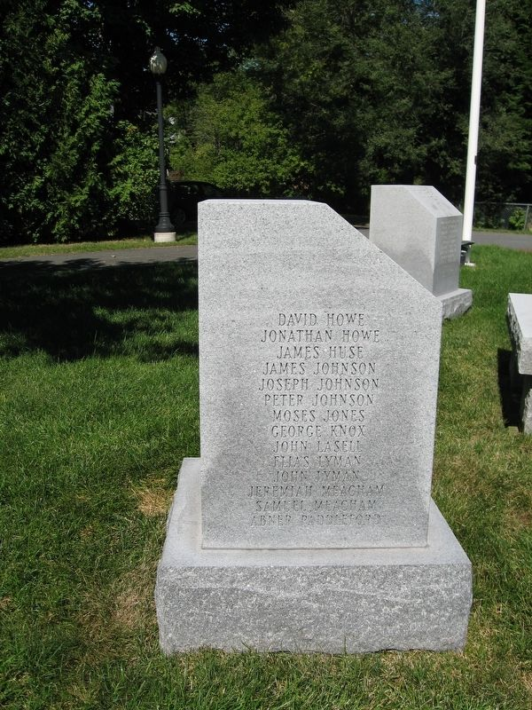 Enfield Revolutionary War Monument image. Click for full size.