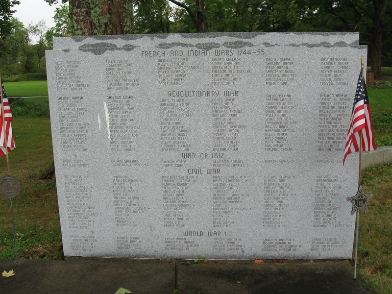 Bernardston Veterans Monument image, Click for more information