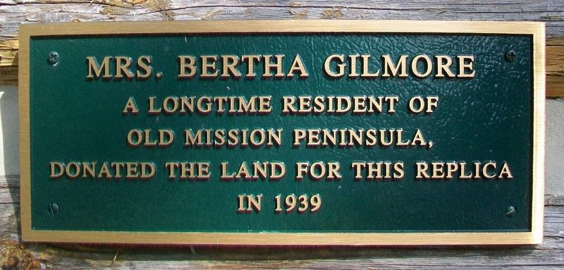 The Old Mission Church - Gilmore Marker image. Click for full size.