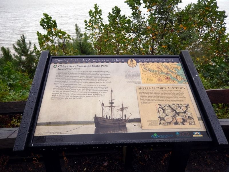 John Smith's Adventures on the James Marker image. Click for full size.