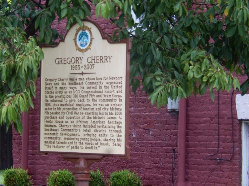Gregory Cherry Marker image. Click for full size.