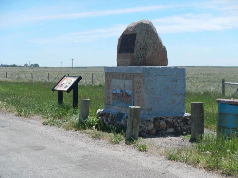 Texas Trail Monument image. Click for full size.