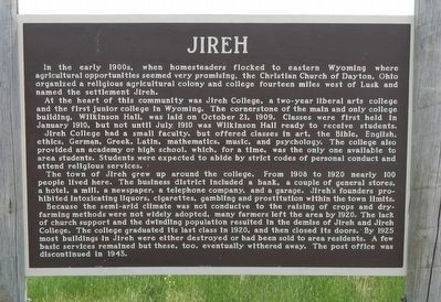 Jireh Marker image. Click for full size.