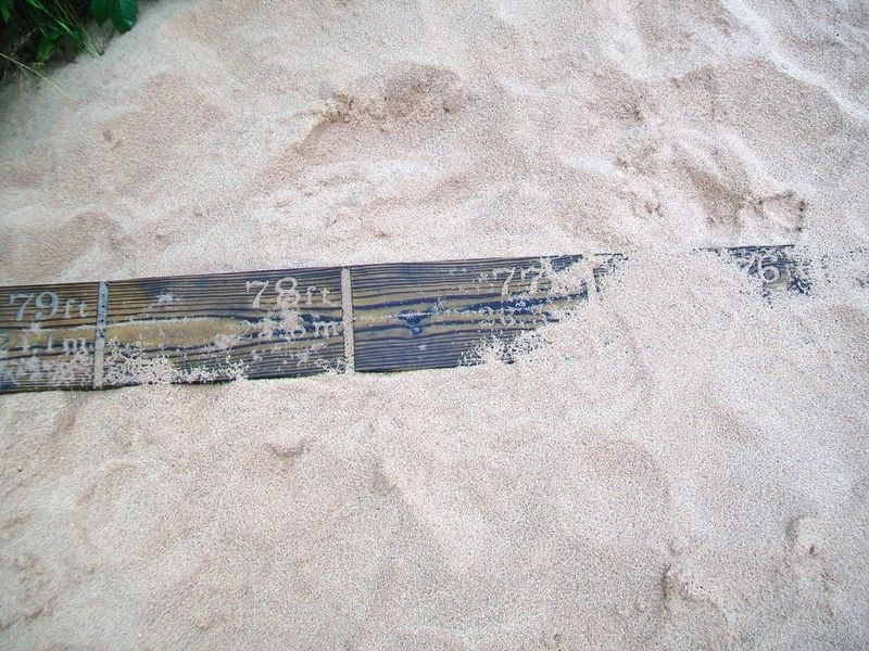 The Moving Dune Measuring Board image. Click for full size.