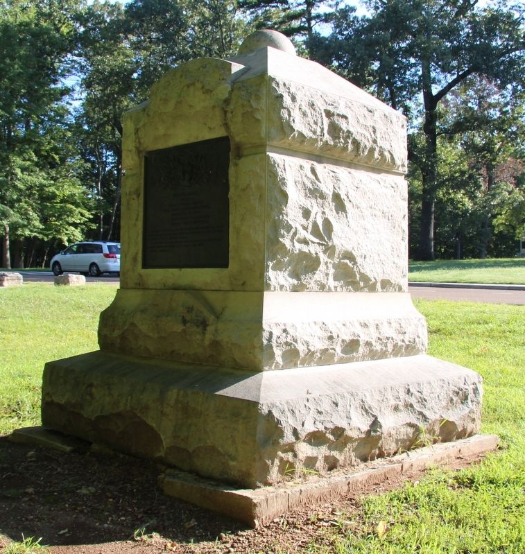 2nd Indiana Cavalry Marker image. Click for full size.