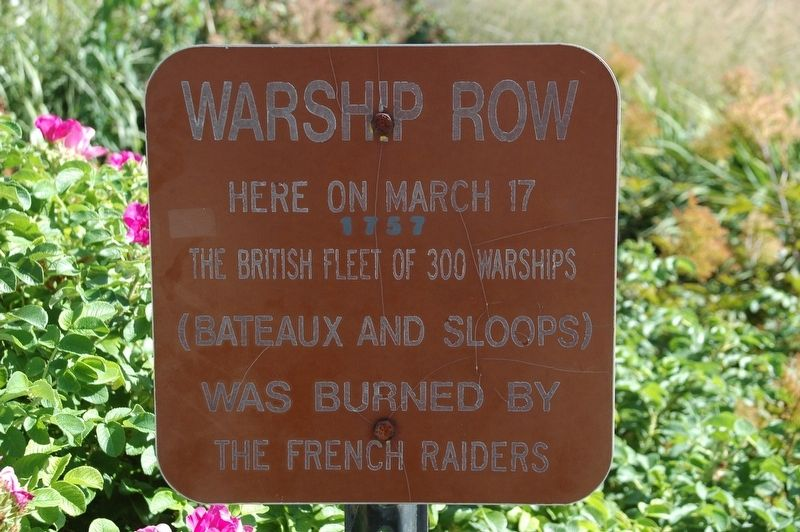 Warship Row Marker image. Click for full size.