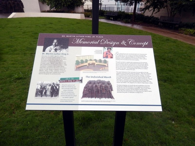 Memorial Design & Concept Marker image. Click for full size.