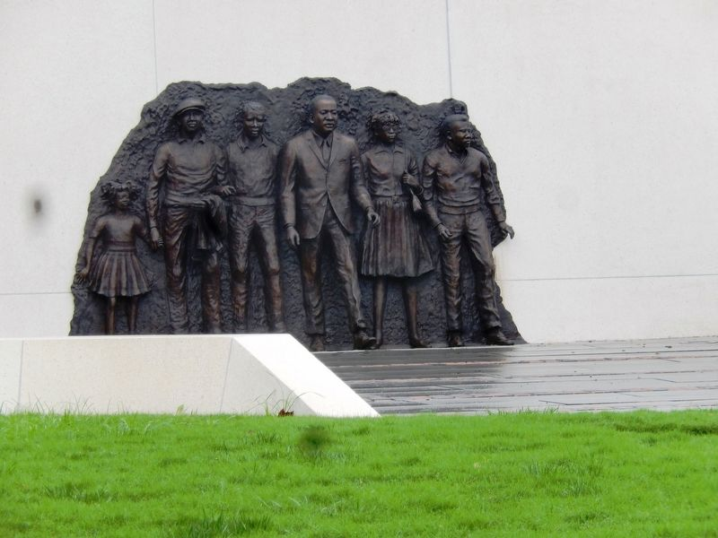 The Unfinished March-Martin L. King Jr. Memorial image. Click for full size.