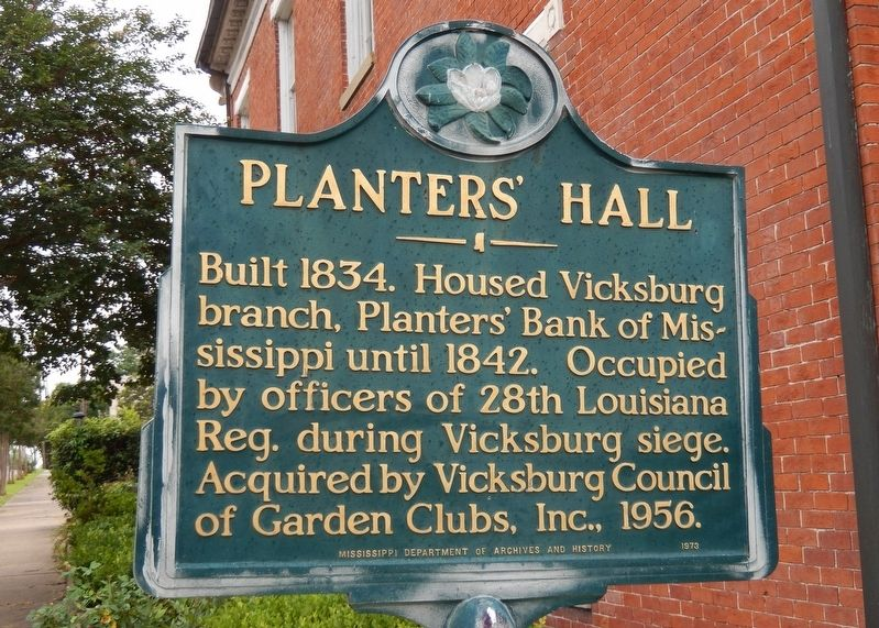 Planters' Hall Marker image. Click for full size.