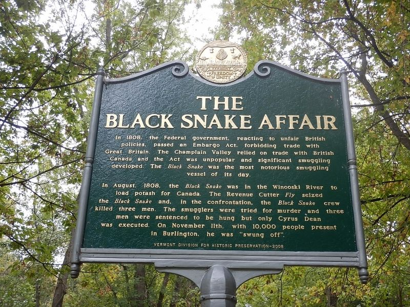 The Black Snake Affair Marker image. Click for full size.