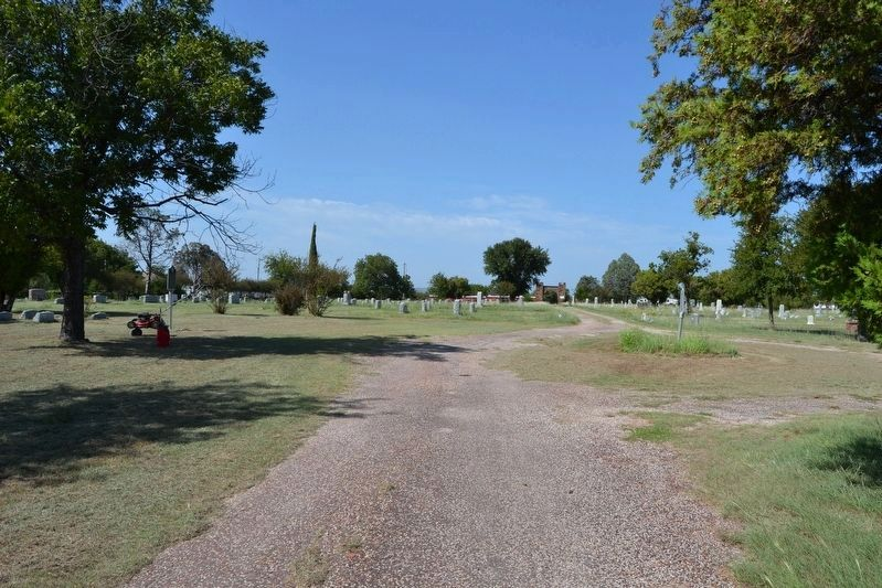 Mount Marion Cemetery image. Click for full size.