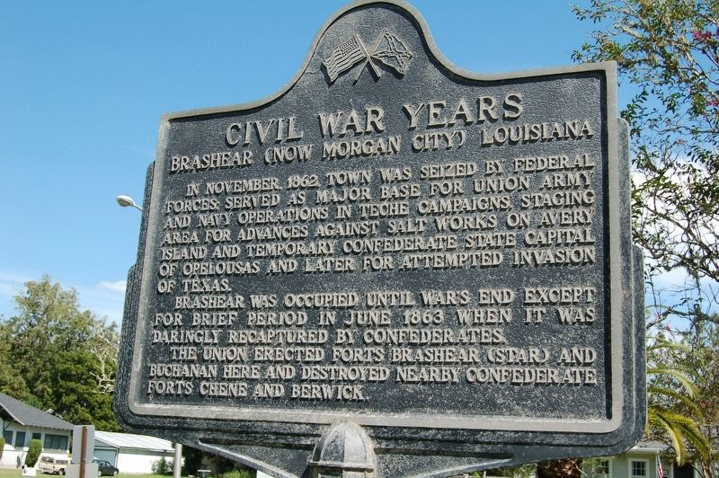 Civil War Years Marker image. Click for full size.