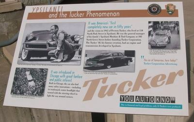 Ypsilanti and the Tucker Phenomenon Marker image. Click for full size.