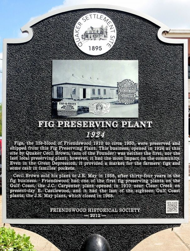 Fig Preserving Plant Marker image. Click for full size.