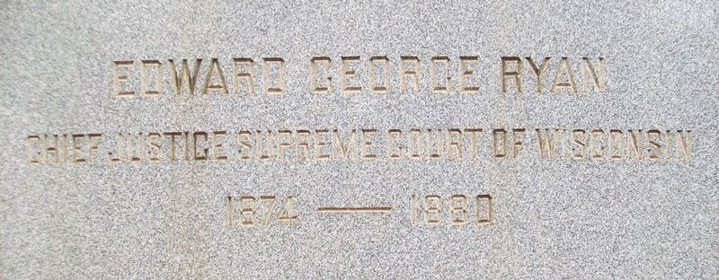 Edward George Ryan Monument image. Click for full size.