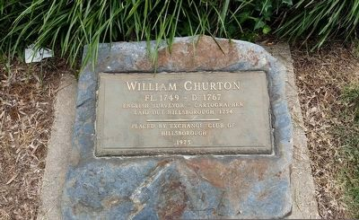 William Churton Marker image. Click for full size.